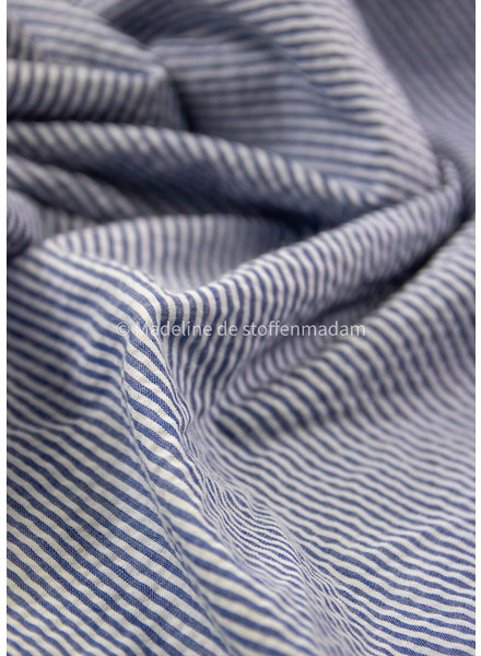 M denim 600 striped - seersucker