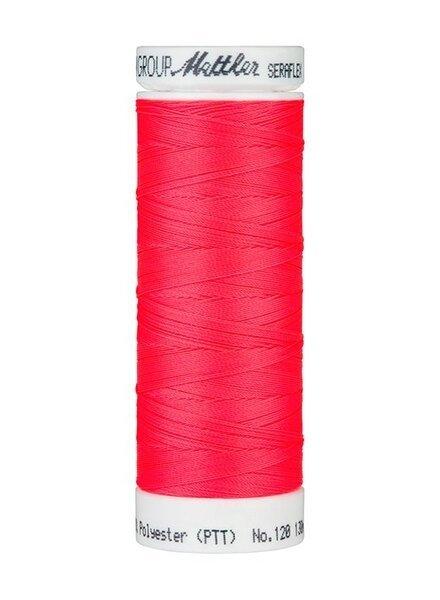 Mettler Seraflex - elastisch garen - neon roze 8775