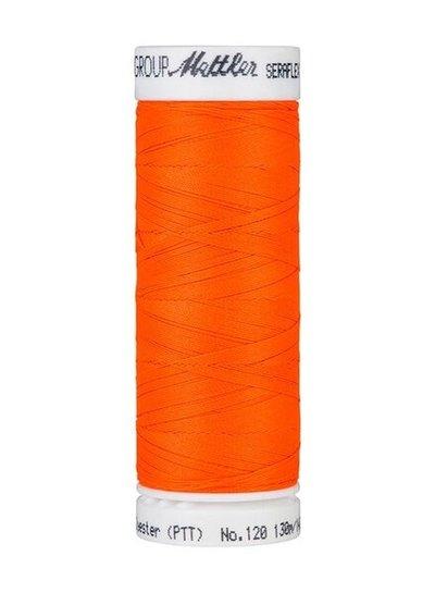 Mettler Seraflex - elastic thread - neon orange 1428