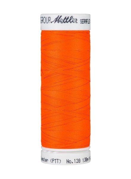 Mettler Seraflex - elastisch garen - neon oranje 1428