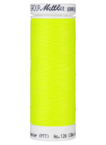Mettler Seraflex - elastisch garen - neon geel 1426