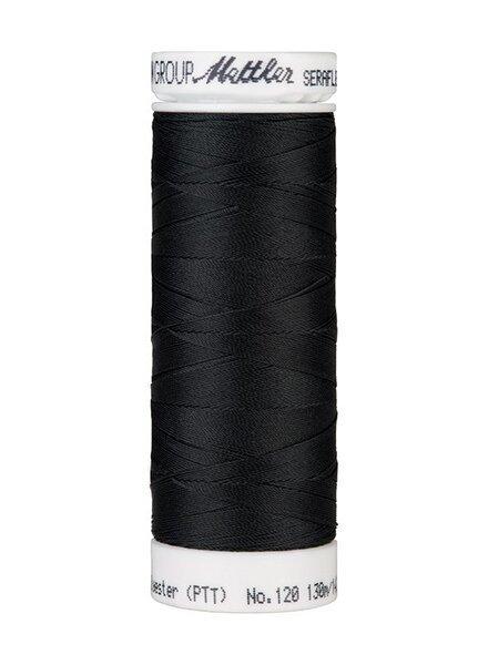 Mettler Seraflex - elastisch garen - antraciet 1283