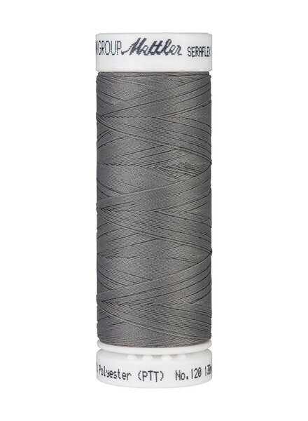 Mettler Seraflex - elastic thread - dark grey 0318