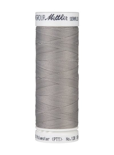 Mettler Seraflex - elastic thread - silver grey 0340