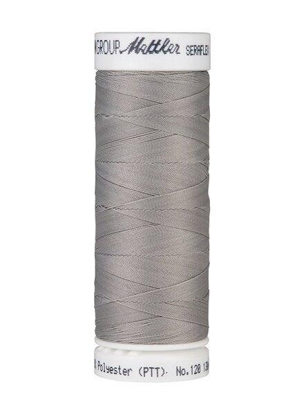 Mettler Seraflex - elastisch garen - zilvergrijs 0340