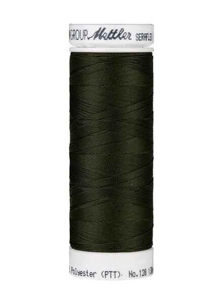 Mettler Seraflex - elastic thread - dark green 0554