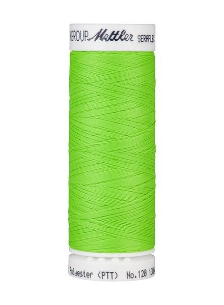 Mettler Seraflex - elastisch garen - neon  groen 70279