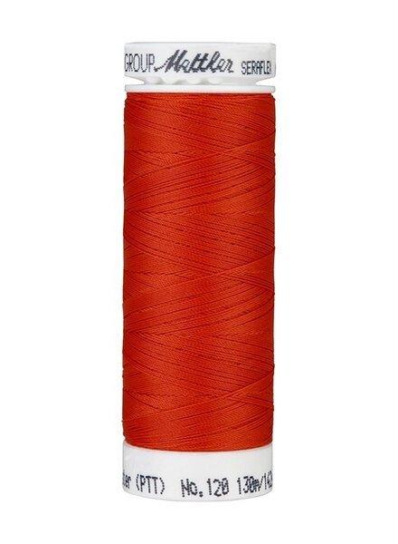 Mettler Seraflex - elastic thread - brick red 1336