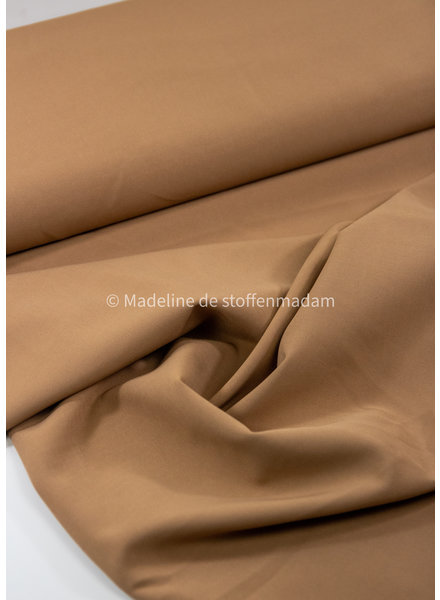 M donker zand - 4-way stretch - mooie kwaliteit voor broeken