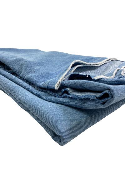 M Heavy washed denim - blue - 12oz