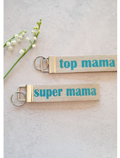 M sleutelhanger 'top mama'