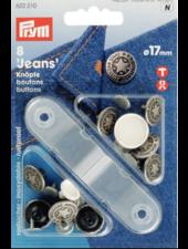 Prym 6 jeans knopen 622210