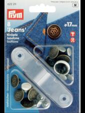 Prym 6 jeans knopen 622211