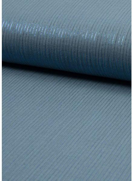 M dusty blue lurex - solid tetra