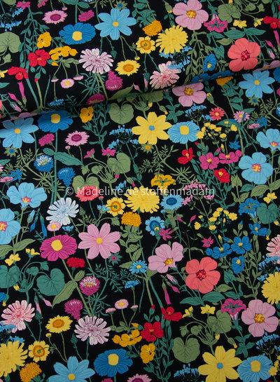 Swafing vintage botanical - black - jersey 3