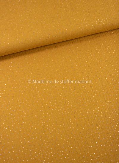 Swafing ochre silver dots - muslin