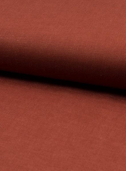 Roest linnen viscose blend