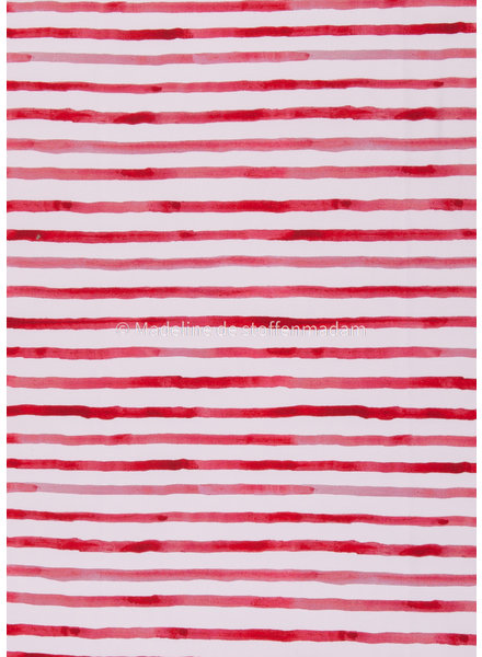 Swafing rode lijnen - tricot