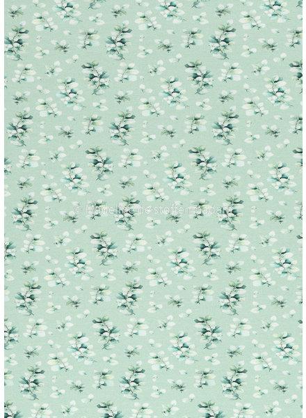 Swafing mini eucalyptus - mint tricot