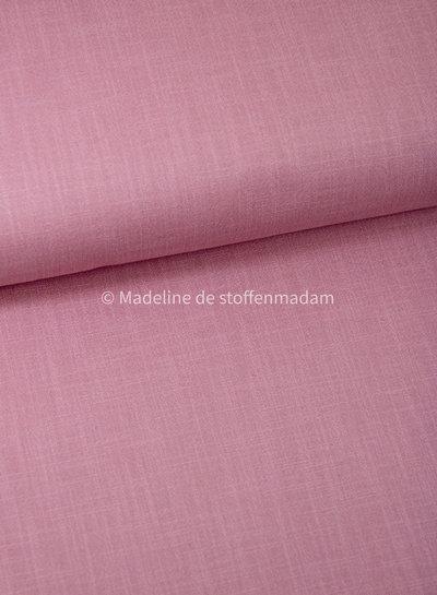 M oudroze 820 - rekbaar linnen katoen mix - superzachte kwaliteit