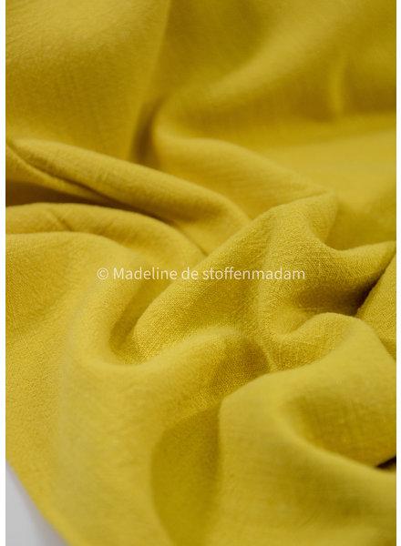 M ocre - viscose linen blend