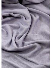 M lila - rekbare gebreide linnen viscose mix