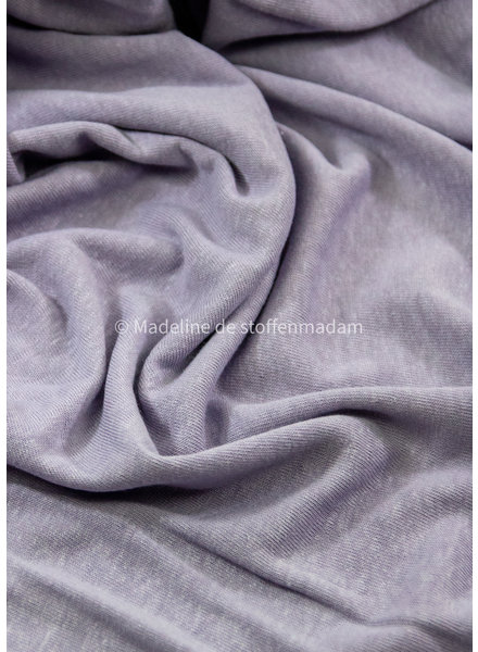 M lilac - knitted linen viscose