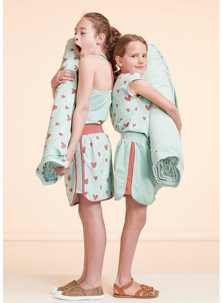 about blue fabrics Love u too - spons