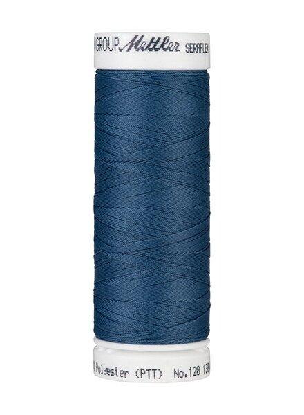 Mettler Seraflex - elastisch garen - petrolblauw 0698