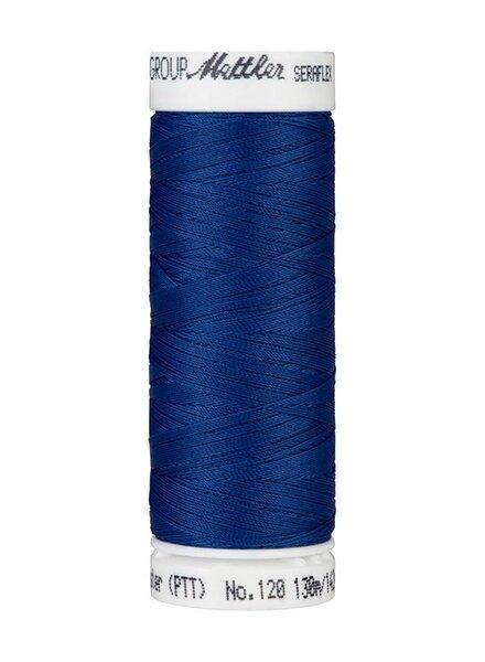 Mettler Seraflex - elastisch garen - kobaltblauw 1303