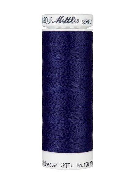 Mettler Seraflex - elastisch garen - kobaltblauw 1305