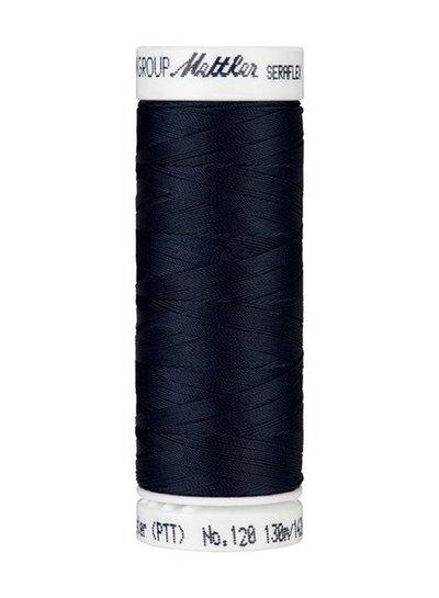 Mettler Seraflex - elastic thread - navy blue 0821