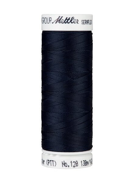 Mettler Seraflex - elastisch garen - marineblauw 0821