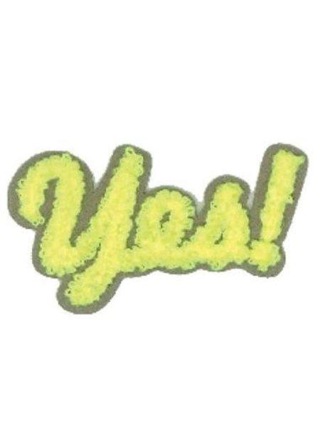 YES - neon geel applicatie