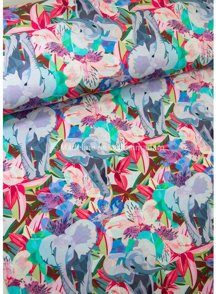 M Elephant parade - tricot