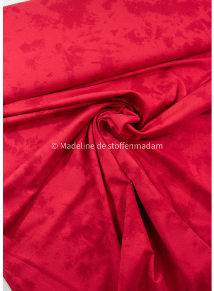 Swafing Tie dyed rood - tricot