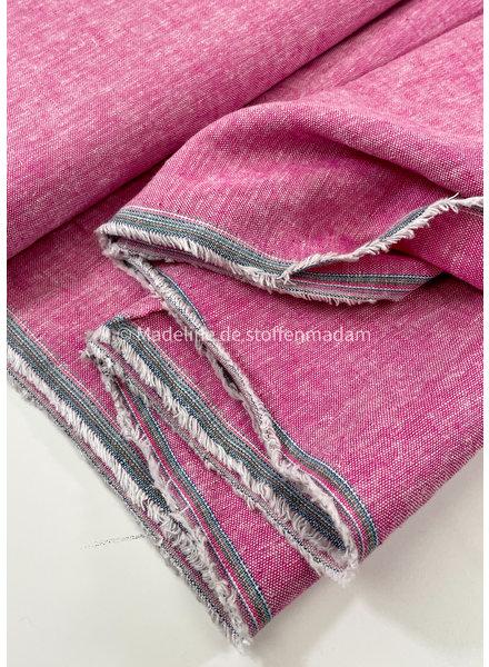 M roze washed linnen viscose