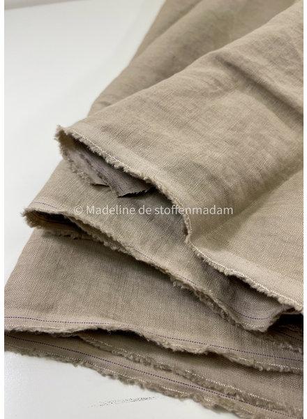 M zand - soepelvallend 100% linnen