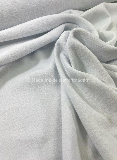 M wit - soepelvallende linnen viscose mix