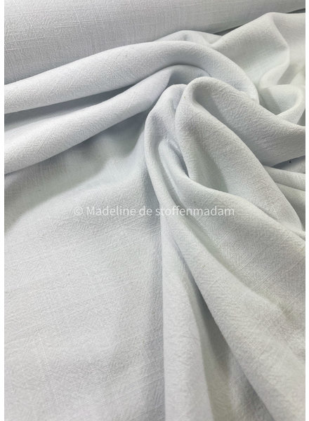 M white - viscose linen blend