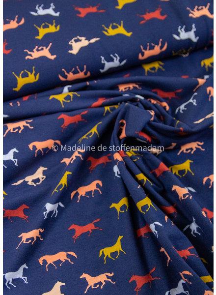 M paarden - tricot - GOTS label