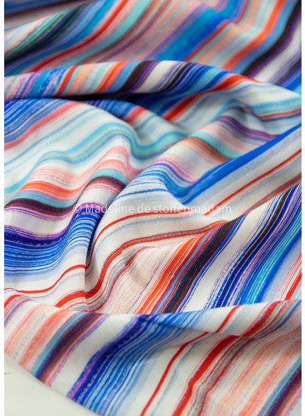 M artistic stripes - viscose
