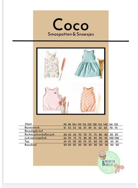 smospotten en snoesjes Coco top en jurk
