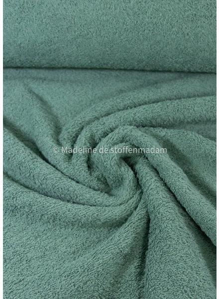 mint - towel fabric