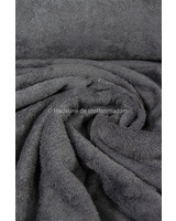 dark grey melee -  towel fabric