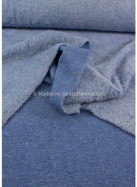 blue - chambray towel fabric