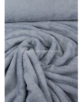light blue melee - bamboo towel fabric