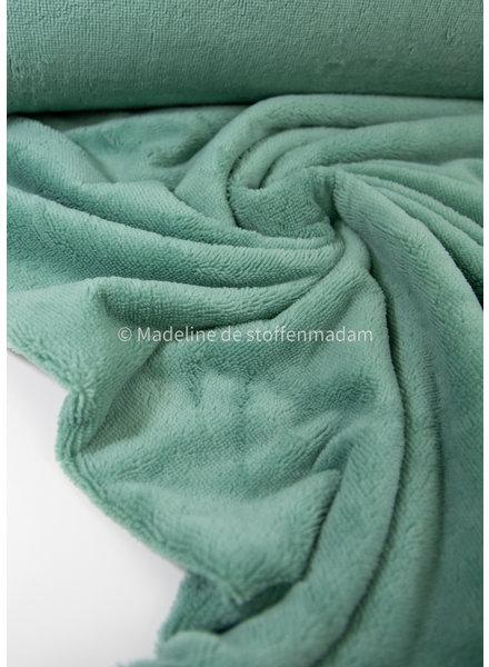 mint - bamboo towel fabric