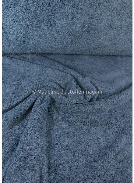 denimblauw -  badstof