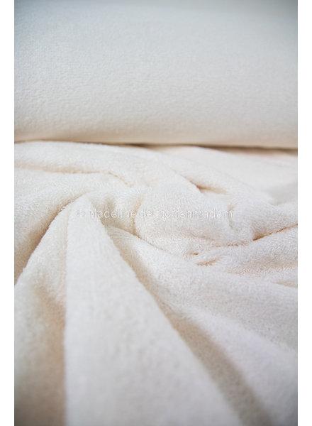 cloud white - bamboo towel fabric